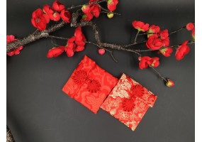 Red Packet - Fabric Material - (A007-A008) 2 Pcs Set