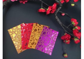 Red Packet - Paper Material (A015-A018) 36pcs Per Box