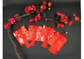 Red Packet - Fabric Material - (A013-A014) - Value Pack (2 Pcs Random Packet)
