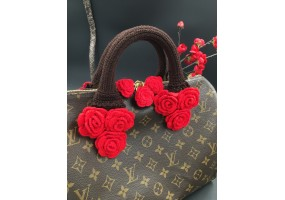 Handmade Bag Handle. Crochet Handle covers - (F009)