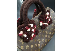 Handmade Bag Handle. Crochet Handle covers (F010)