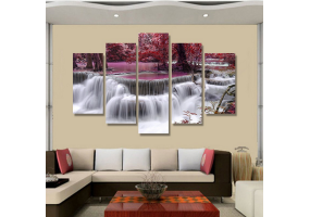 5pcs Stylish  Unframed Canvas Print Wall Paint Decoration Picture  - (D023)