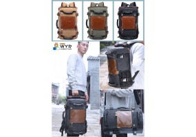 3 in 1 Stylish Laptop Bag  / Business Bag / Travel Bag/ School Bag- (B009)