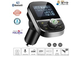 Bluetooth MP3 Player FM Transmitter USB Car Charger -  (P003)