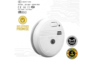 KingDun KD 133 A Smoke Detector (9v Battery Included)