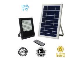 56LED Remote Solar Lights Solar Powered Floodlight