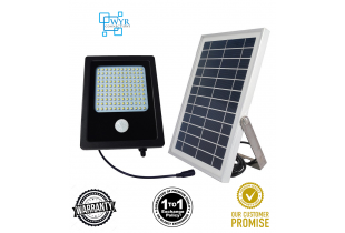 120LED Motion Sensor Solar Lights Solar Powered Floodlight