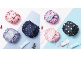 Korean Cosmetic Travel Bag Organizer Make Up Pouch Waterproof