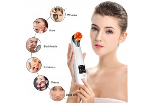 (Upgraded) Youlanda Facial Pore Cleanser Electric Blackheads Remover Tool Acne Vacuum Suction Extractor  with B