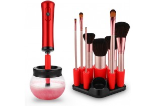 Electronic Make Up Brush Cleaner and Dryer Set Suit for Most Size of Makeup Brushes