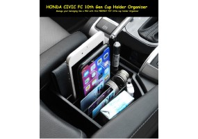 Honda Civic FC 10th Gen Car Accessories Cup Holder Organizer