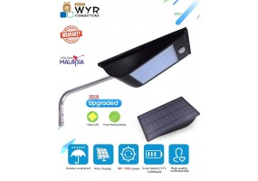 11000mAh Outdoor Solar LED Lights Wireless 110 LED Motion Sensor Light with Remote Control