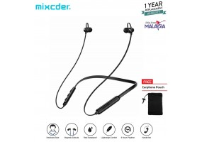 Mixcder R9 Earphone Wireless Neckband Bluetooth Sweat Proof Headphone Sports Light weight Magnetic with mic