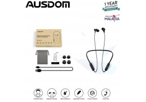 Ausdom S5 Earphone Wireless Neckband Bluetooth Sweat Proof Headphone Sports Light weight Magnetic with mic