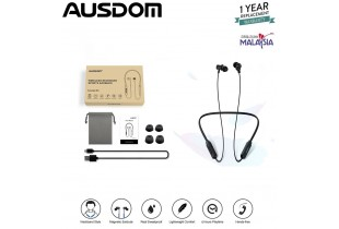 Ausdom S5 Waterproof Earphone Wireless Neckband Bluetooth Sweat Proof Headphone With Mic