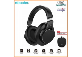 Mixcder E8 Active Noise Cancelling Lightweight Headset Stereo Wired Wireless Bluetooth Over Ear Head
