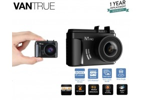 Vantrue N1 Pro Mini 1080P Dash Cam with Sony IMX323 Sensor, Full HD 1920x1080P 1.5