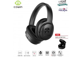 COWIN SE7 Active Noise Cancelling Lightweight Headset Stereo Wired Wireless Bluetooth Over Ear Headp