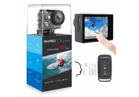 AKASO V50 Elite 4K/60fps Touch Screen WiFi Action Camera Voice Control EIS 40m Waterproof Camera Adj