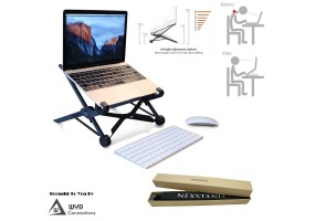 Nexstand K2 Portable Foldable Adjustable Laptop Stand Support Suitable For 15'6 Below