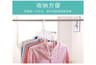 Upgraded Magic 8 In 1 360 Rotating Laundry Clothes Hanger Multi Function Closet Hanger Drying Rack Hanger Organizer