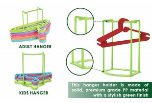 Wardrobe Rack Storage Clothes Hanger Laundry Organizer All In One