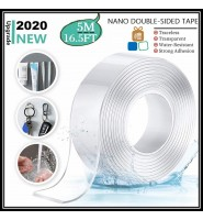 Multifunctional Strongly Sticky Double-Sided Adhesive Nano Tape Traceless Washable Removable Tapes Indoor Outdoor