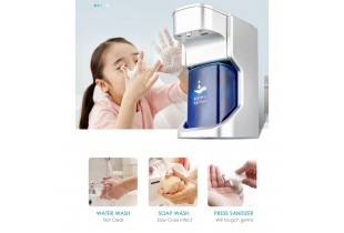 Automatic Soap Dispenser Touchless Foam Liquid Soap Dispenser Bath Kitchen Soap Dispenser with Infrared Motion Sensor