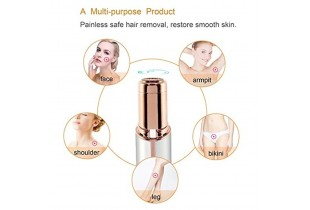 Rechargeable Facial Epilator Depilation Hair Removal USB Electric Hair Removal Trimmer Device