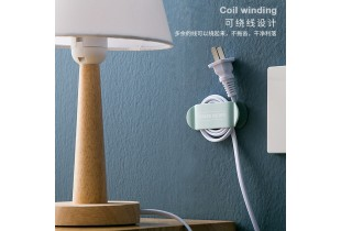 4pcs Power Plug Hook Holder Power Cord Plug Seamless Strong Adhesive Electrical Wire Plug Wall Sticker