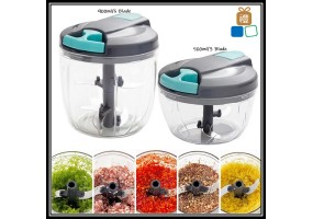 500/900ml Hand Operate Manual Meat Grinder Food Cutter Chopper Sausage Beef Mincer Kitchen Home Tool