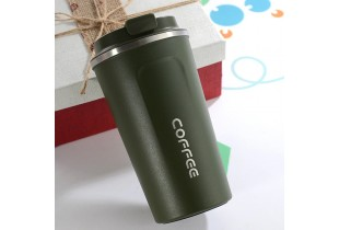 Double Stainless Steel 304 Coffee Mug Car Thermos Mug Leak Proof Travel Thermos Cup Flask