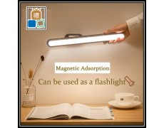 Hanging Study Lamp Magnetic Wall Lamp 5V USB Chargeable 14 LED Under Cabinet Light Eye-protect Dimming Night lights