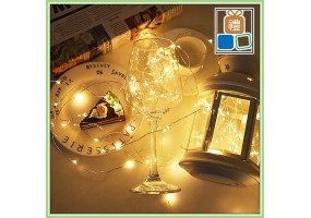 5-10M-20M LED light USB Battery Remote Copper Wire String Fairy Light Home Photo Decoration Light Lamp CRISTAL LIGHT