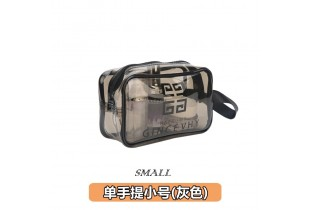 Transparent Cosmetic Storage Travel Bag Toiletries Makeup Bag Organizer Pvc Zipper Travel Accessories Storage Bag