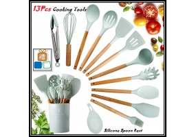 13Pcs Cooking Tools Kitchen Cookware Set Silicone Utensils Cooking Sets Household Kitchen Accessories Sets