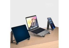 Adjustable Tablet Stands ABS Material Foldable Portable Supermini Laptop Stand Holder For Laptop ipad Mobile Phone