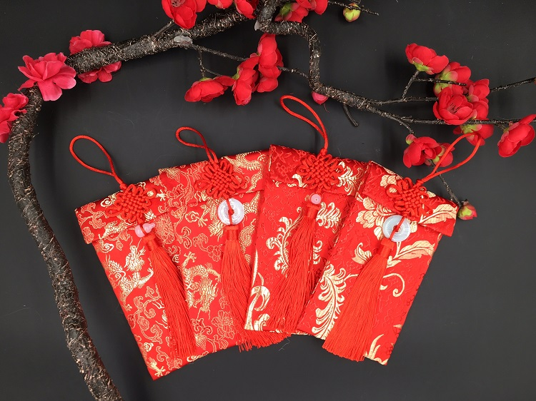 Red Packet - Fabric Material - (A009-A012)