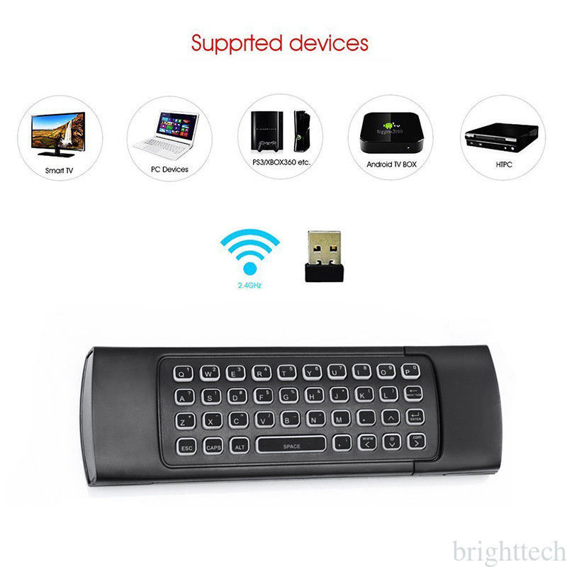 MX3 Pro 2 4G Remote with Backlight Mini Wireless Keyboard Air Mouse