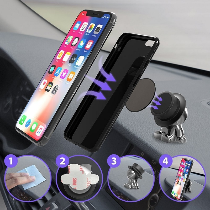 Universal Magnetic Phone Tablet Car Mount Dashboard Cell Phone Magnet Tablet Holder
