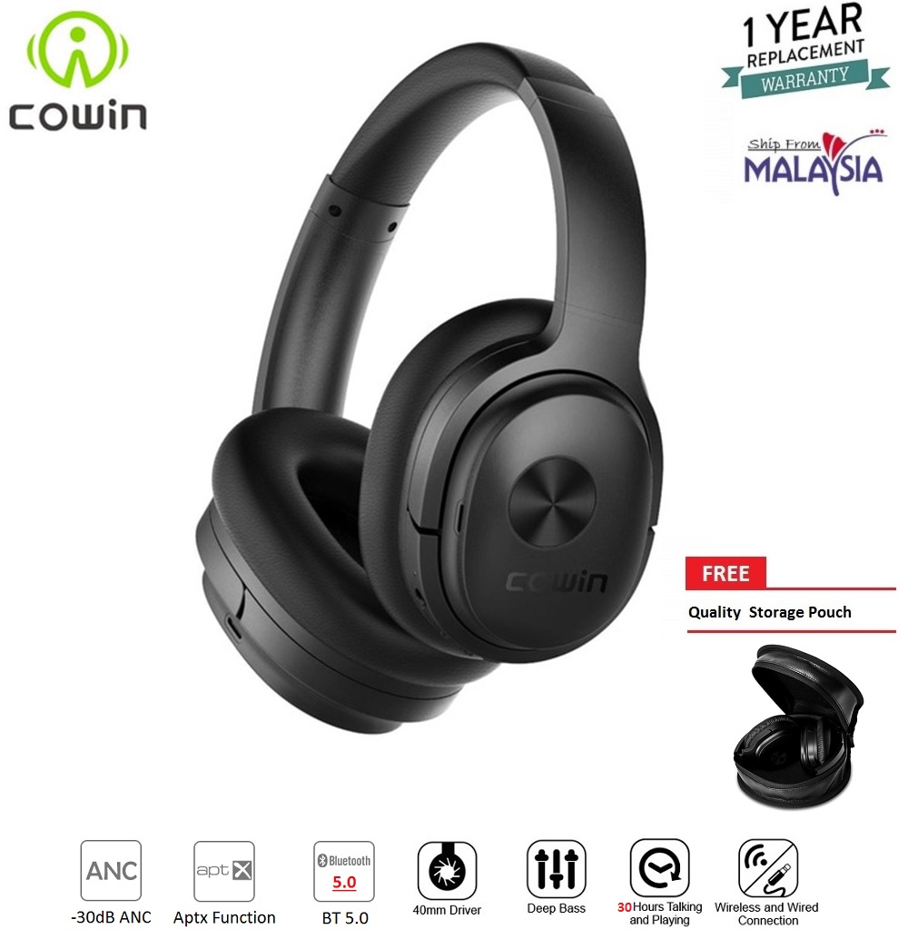 1dfe508b890 COWIN SE7 Active Noise Cancelling Lightweight Headset Stereo ...