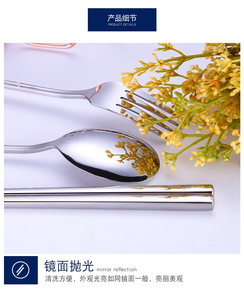 7 In 1 304 Stainless Steel Straw Utensil Spoon Fork  Chopstick Set Reusable Metal (Free Lucky Cat Pouch)